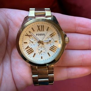 Fossil Gold Women's Watch